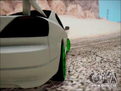 Nissan Silvia S15 pour GTA San Andreas vue de dessous