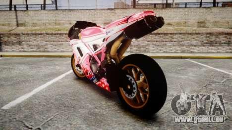 Ducati 1198 R für GTA 4 hinten links Ansicht