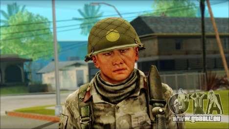 Un Nord-coréen soldat (Rogue Warrior) pour GTA San Andreas troisième écran
