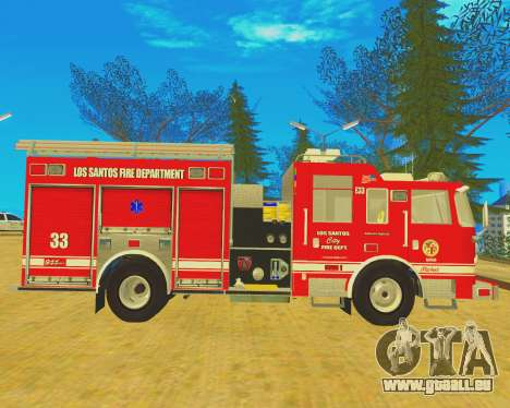 Pierce Arrow XT 2008 Los Santos Fire Department pour GTA San Andreas laissé vue
