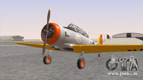 North American T-6 TEXAN N645DS für GTA San Andreas