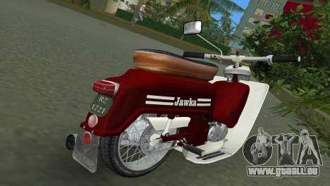 Jawa Type 20 Moped pour une vue GTA Vice City de la droite