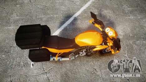 Yamaha V-ixion 150cc für GTA 4 rechte Ansicht