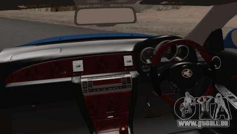 Toyota Soarer 430SC 2002 (IVF) pour GTA San Andreas sur la vue arrière gauche