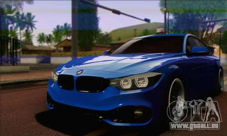 BMW 435i Stance pour GTA San Andreas