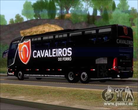 Marcopolo Paradiso G7 1600LD Scania K420 pour GTA San Andreas sur la vue arrière gauche