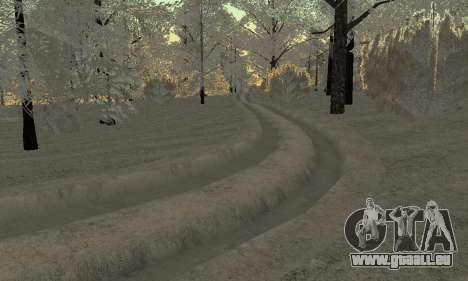 De la neige pour GTA Pénale de la Russie bêta 2 pour GTA San Andreas septième écran
