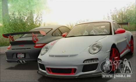 Porsche 911 GT3 2010 pour GTA San Andreas moteur