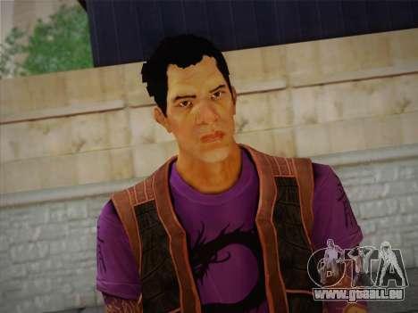 Slim Thug pour GTA San Andreas troisième écran