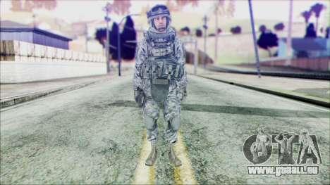 Ranger (CoD: MW2) v2 pour GTA San Andreas