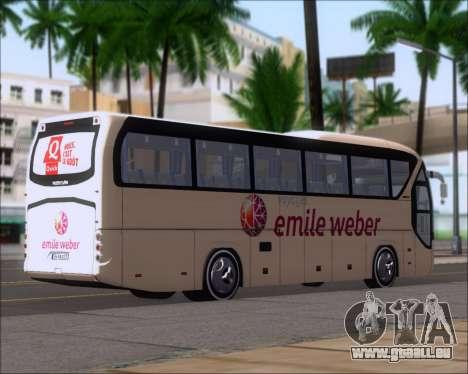Neoplan Tourliner Emile Weber pour GTA San Andreas sur la vue arrière gauche