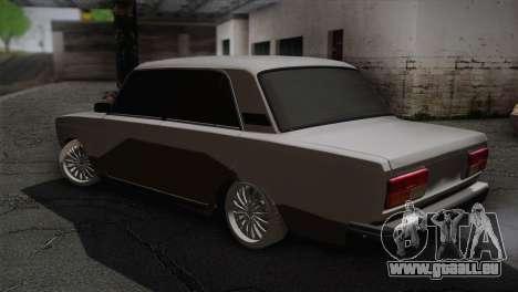 VAZ 2107 für GTA San Andreas linke Ansicht