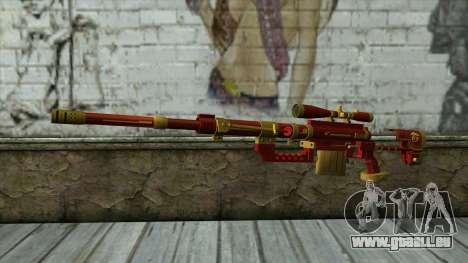 Sniper Rifle from PointBlank v1 für GTA San Andreas