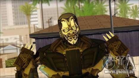 Verrouillage pour GTA San Andreas troisième écran