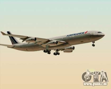 Airbus A340-313 Air France (New Livery) für GTA San Andreas Räder