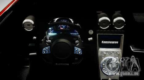 Koenigsegg Agera R 2013 PJ3 für GTA 4 hinten links Ansicht