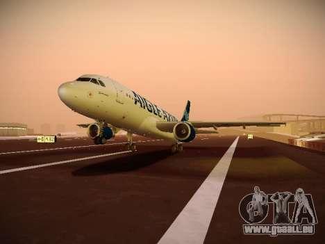 Airbus A320-211 Aigle Azur pour GTA San Andreas