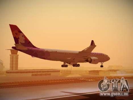 Airbus A330-200 Hawaiian Airlines pour GTA San Andreas moteur