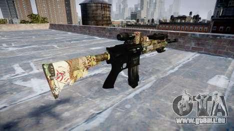 Automatische Gewehr Colt M4A1 ronin für GTA 4 Sekunden Bildschirm