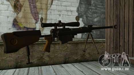 PGM Ultima Ratio Hécate II pour GTA San Andreas deuxième écran