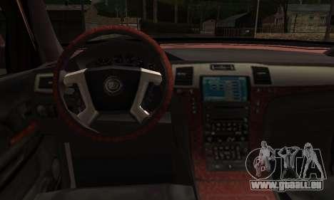 Ford Explorer 1996 pour GTA San Andreas sur la vue arrière gauche