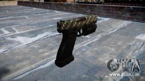 Pistolet Glock 20 en fibre de carbone pour GTA 4 secondes d'écran