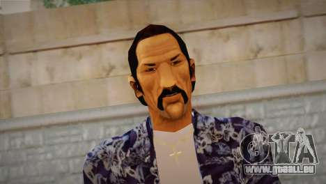 Vice City Style Ped pour GTA San Andreas troisième écran