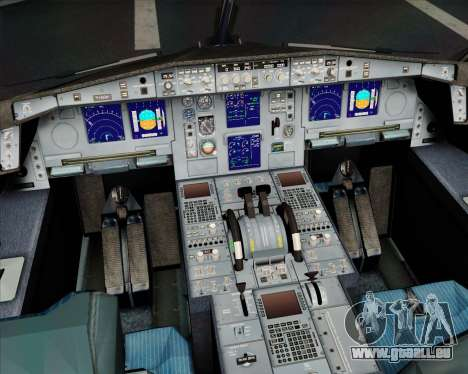Airbus A330-300 Scandinavian Airlines System. pour GTA San Andreas roue