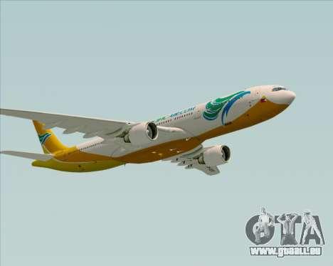 Airbus A330-300 Cebu Pacific Air für GTA San Andreas Unteransicht