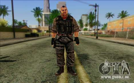 Les soldats de la Rogue Warrior 2 pour GTA San Andreas