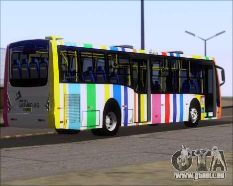 Caio Millennium II Volksbus 17-240 pour GTA San Andreas sur la vue arrière gauche