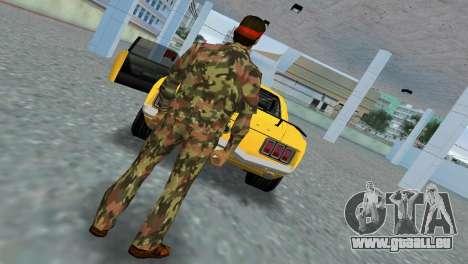 Camo Skin 09 GTA Vice City pour la deuxième capture d'écran