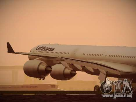 Airbus A340-600 Lufthansa pour GTA San Andreas