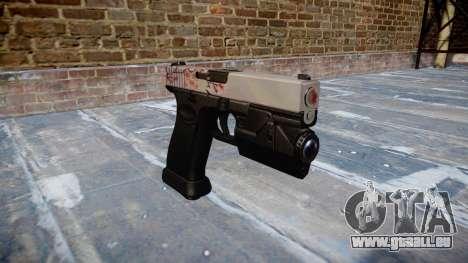 Pistole Glock 20 Kirsche blososm für GTA 4