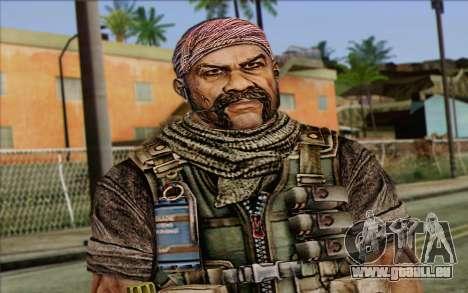Soldaten aus dem Rogue Warrior 3 für GTA San Andreas dritten Screenshot