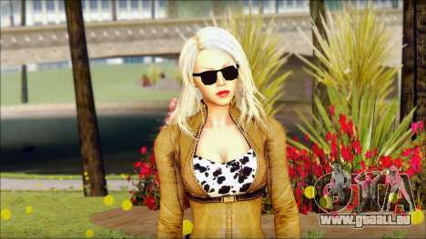 Eva Girl v1 pour GTA San Andreas troisième écran