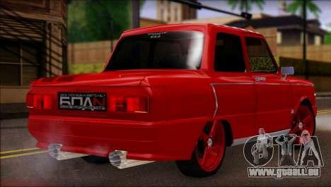 ZAZ M pour GTA San Andreas laissé vue