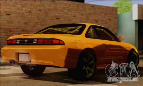 Nissan 200sx Drift Monster Energy für GTA San Andreas linke Ansicht