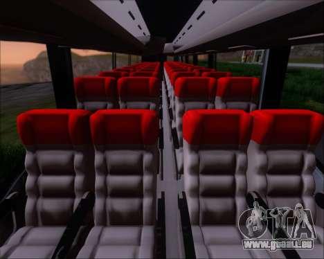 Irizar MQ2547 Five Star 8802 pour GTA San Andreas vue de dessus