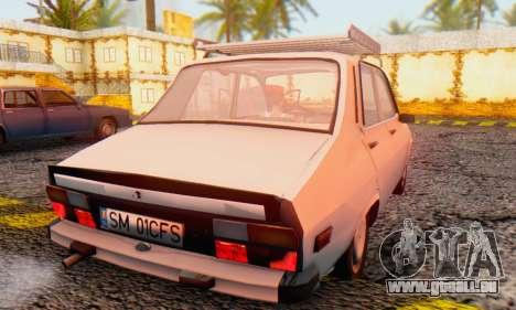Dacia 1310 TX Stock v1 pour GTA San Andreas sur la vue arrière gauche
