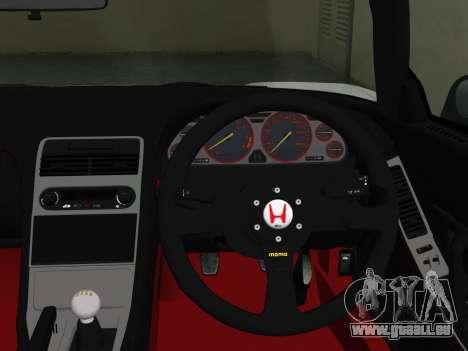 Honda NSX-R pour une vue GTA Vice City de la droite