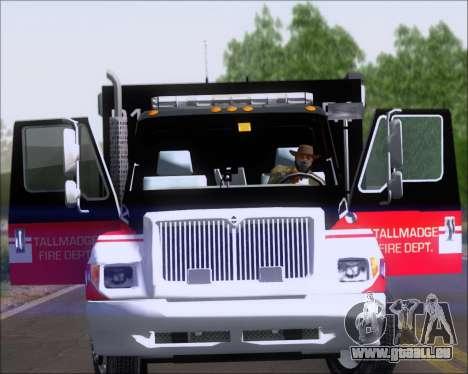Pierce Commercial TFD Rescue 1 für GTA San Andreas rechten Ansicht
