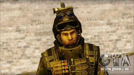 Soldaten der EU (AVA) v1 für GTA San Andreas dritten Screenshot