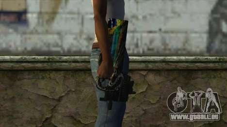 P90 from PointBlank v1 pour GTA San Andreas troisième écran