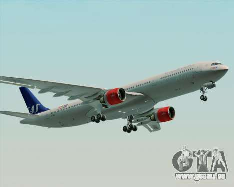Airbus A330-300 Scandinavian Airlines System. pour GTA San Andreas moteur