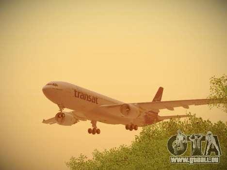 Airbus A330-200 Air Transat pour GTA San Andreas moteur