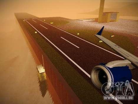 Embraer E190 Azul Brazilian Airlines pour GTA San Andreas roue
