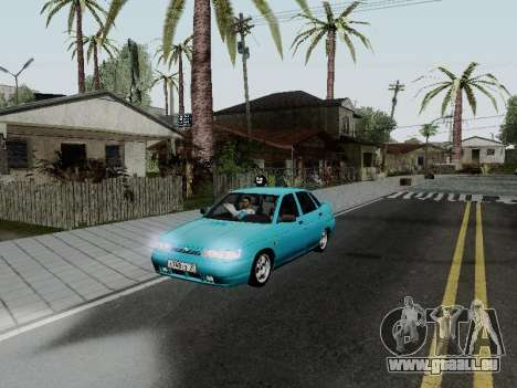 VAZ 2110 für GTA San Andreas Unteransicht