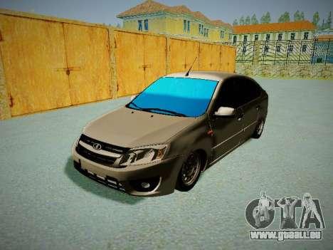 Lada Granta Liftback für GTA San Andreas linke Ansicht
