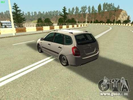 Lada Kalina 2 Wagon pour GTA San Andreas laissé vue